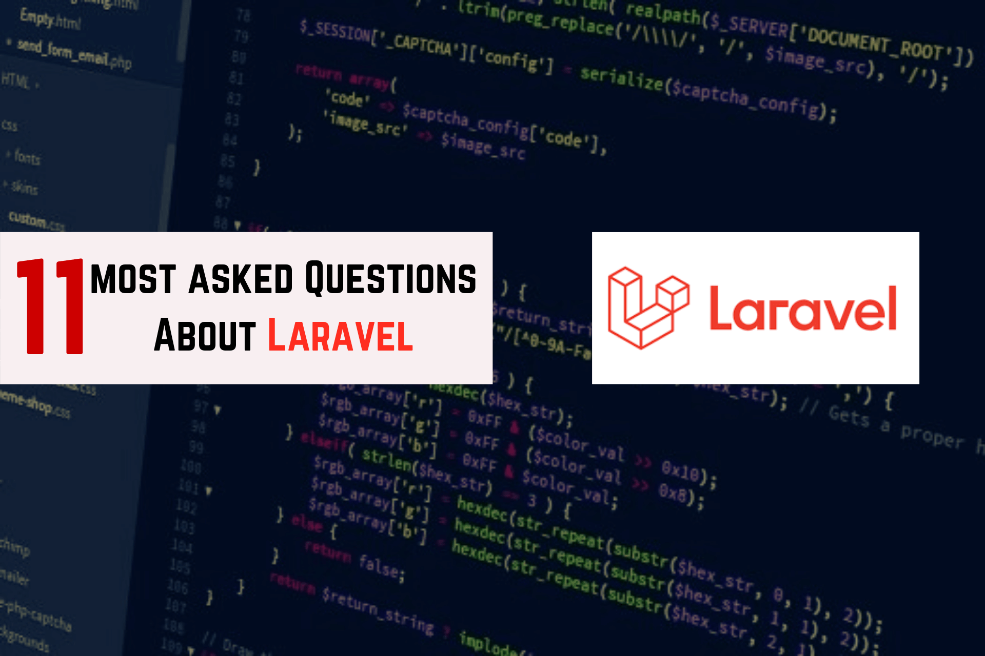 questions about laravel