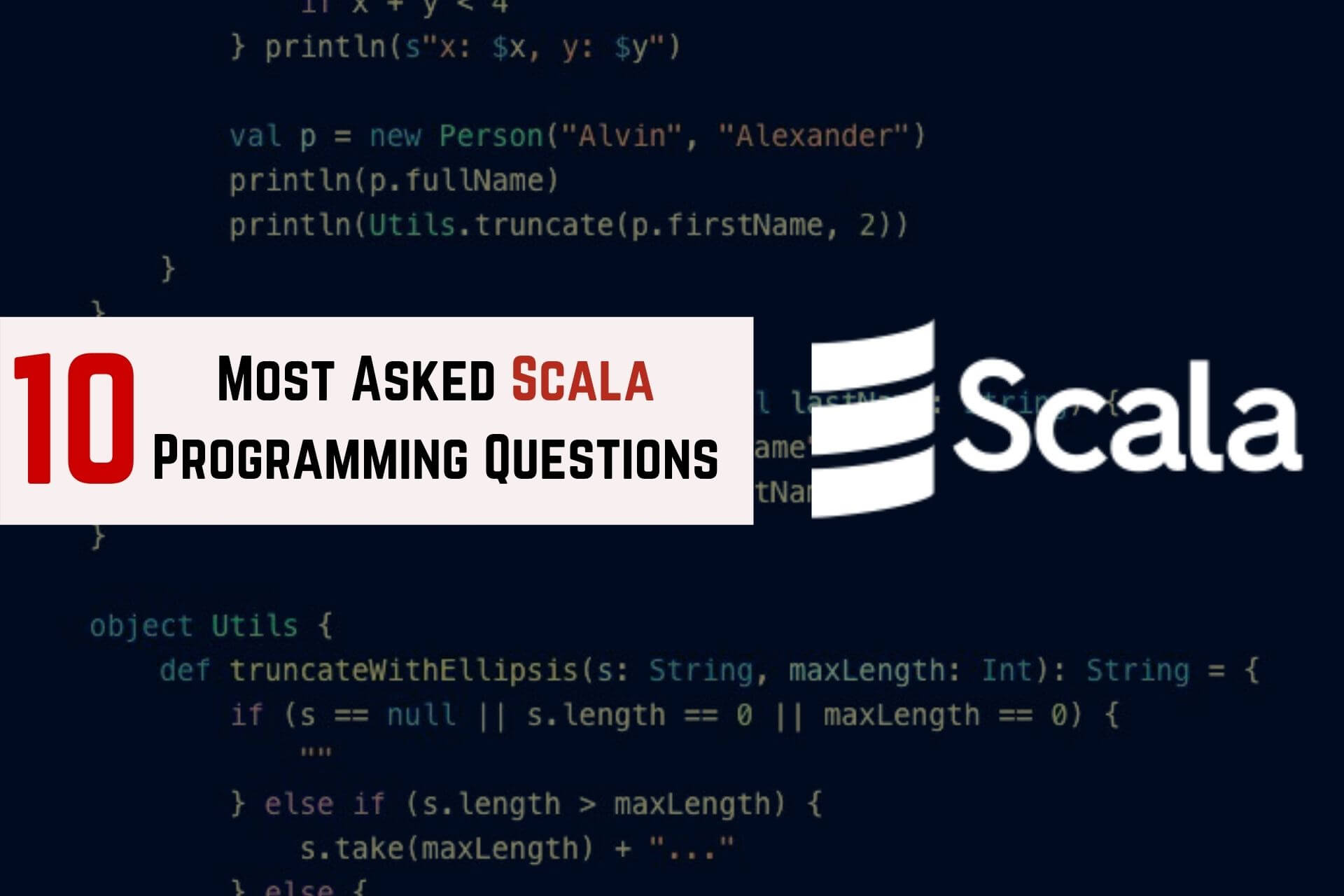 scala programming questions