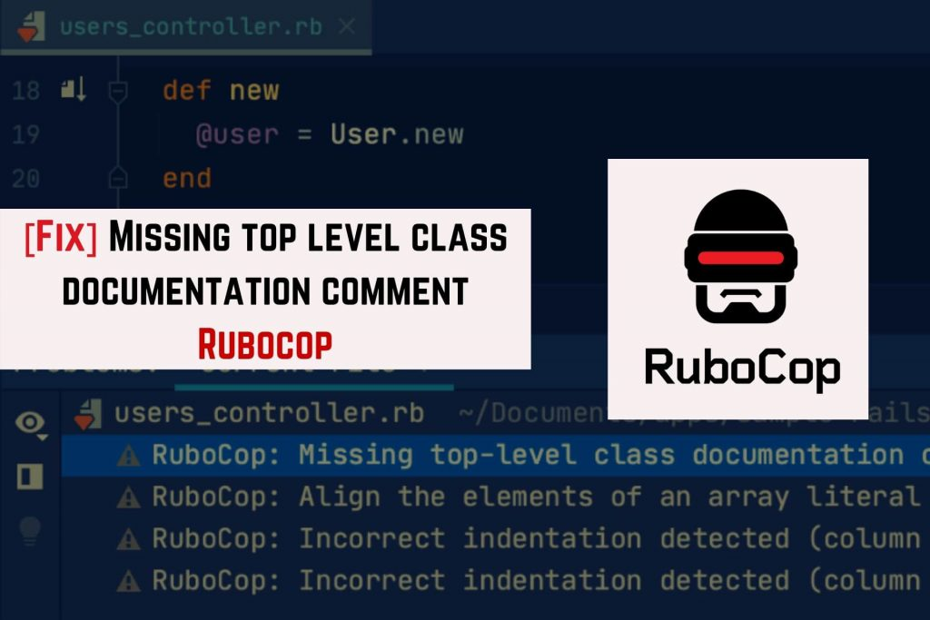 rubocop missing comment