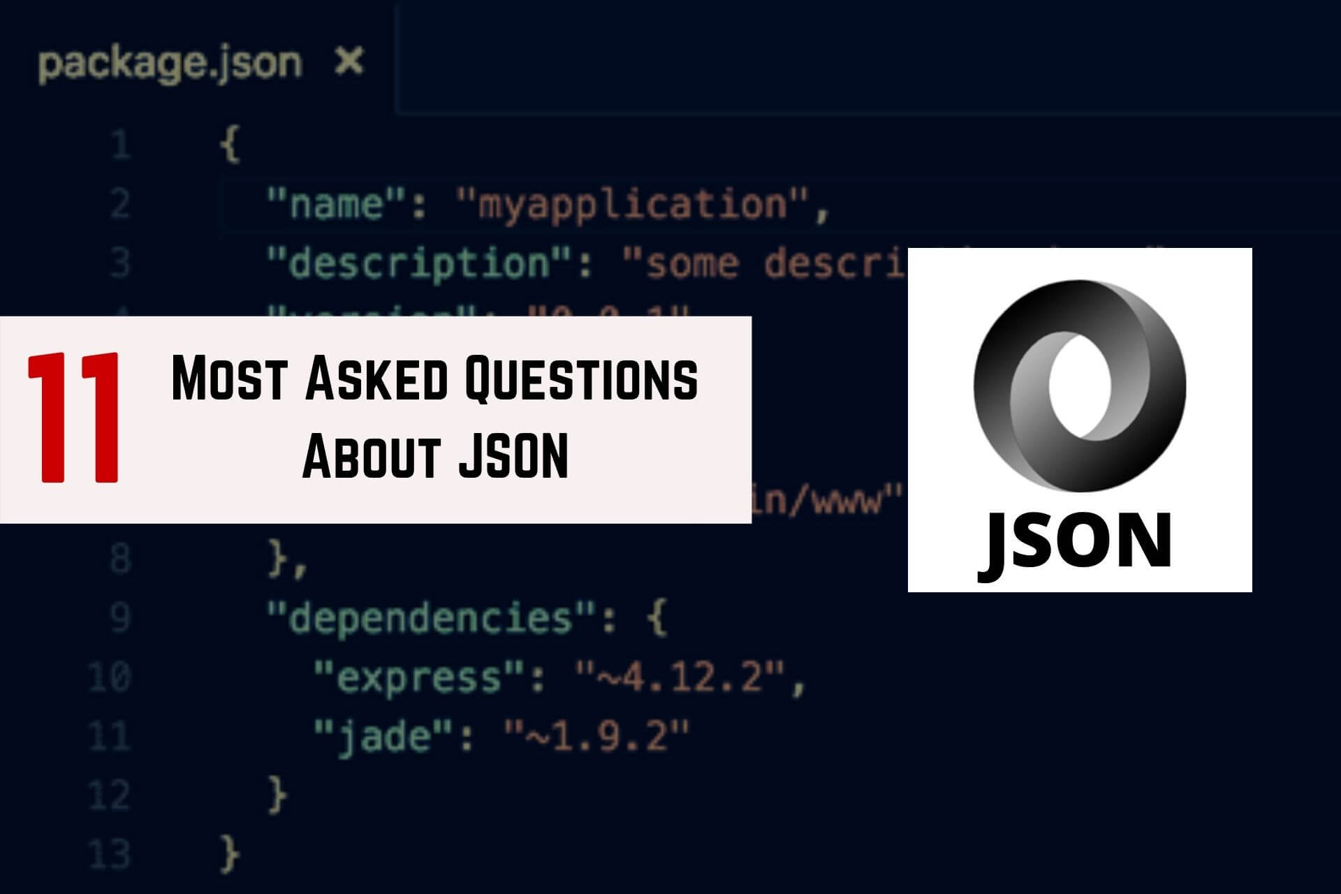 questions about JSON