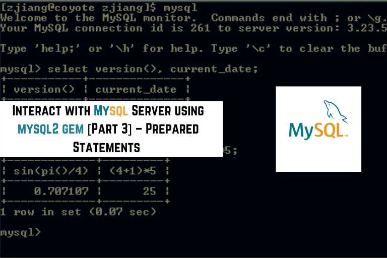 mysql2 gem prepared statements