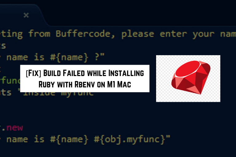 install ruby with rebenv