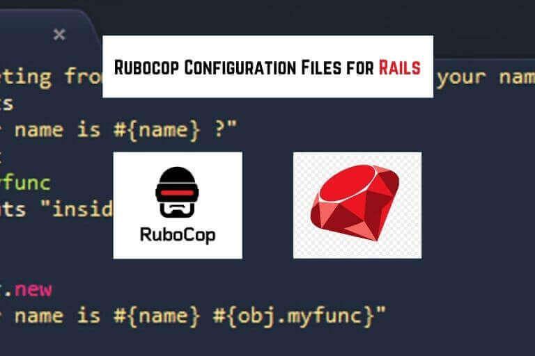 rubocop configuration files